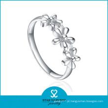 Altamente Polimento Plain Metal Ring