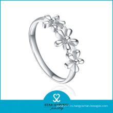 Высокополированное гладкое металлическое кольцо