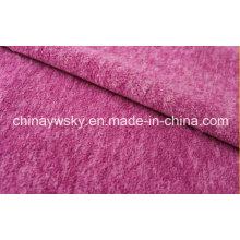 Cationique de polaire de fil épais de polyester
