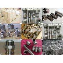 Acessórios de parafusos do bocal do tubo de aço inoxidável 304