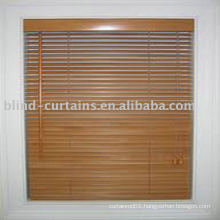 Wood woven blind