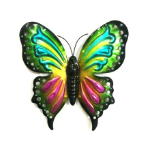 Metal Bright Butterfly Wall Decoration for Garden