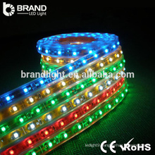 CE RoHS 30leds 5050 SMD 7.2W/M DC12V multicolor led light strip rgb