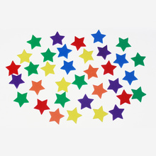 Couleurs mixtes EVA foam star sortiment
