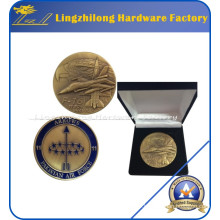 Custom F-16 Army Theme Souvenir Coin with Box