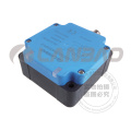 10-60V DC M12 Retangular Wide Tensão Sensor de Sensor de Proximidade de Tipo Indutivo (LE80XZ DC3 / 4)