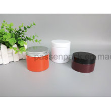Farbiges Haustierglas für kosmetische Creme Verpackung ((PPC-86)