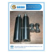 Usine Whosale haute pureté Moly électrode / électrode de molybdène pour verre fondre l'industrie avec la meilleure qualité