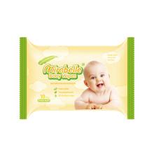 Toalhetes de bebê naturais de algodão puro
