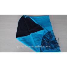 Inner Mongolia top grade double-face mercererized wool shawl