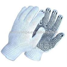 Pvc gepunktete handschuhe für industrie