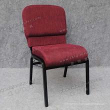 Cadeira escura da igreja da tela do tecido (YC-G36-01)