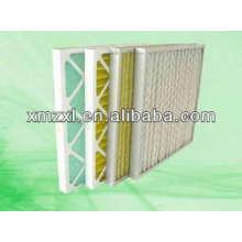 Folding plate air filter