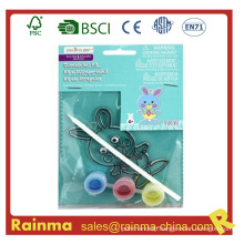 Easter Rabbit Water Color Paint DIY Toy