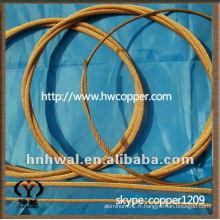 Conducteur flexible en cuivre