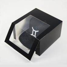 Custom Baseball Caps Black Cap Gift Box Packaging
