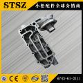 Komatsu parts PC300-7/360-7 oil cooler cover 6743-61-2111
