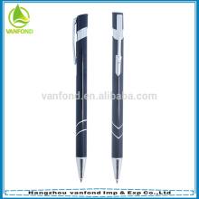 Popular hot sale metal retractable ballpoint aluminium pen
