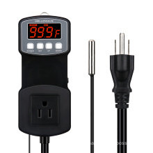 Socket PID Temperature Controller For Seedling Heat Mat