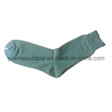 Verde oliva calcetines militares con algodón de alta calidad