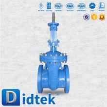 DIDTEK WCB stem 12 inch gate valve with cad drawing
