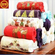 Toalha de Natal atacadista de China, conjunto de toalha de Natal, toalha de cozinha de Natal