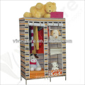 Vivinature fabric Wardrobe Clothes Storage Cabinet