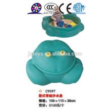 Los niños barato plástico al aire libre Arena y plato de agua
