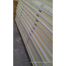 100mm PU Kundenspezifische Kühlraumplatten; Farbe Stahloberfläche