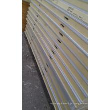 Painéis perfurados personalizados plutônio da sala de 100mm; Superfície de aço da cor