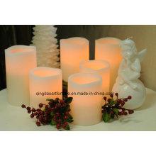 Беспламенное светодиодное свечение со многими покрытиями
