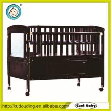 China fornecedor bebê cama de madeira modelos