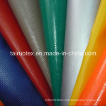 Waterproof PVC Coated Tarpaulin Fabric for Tent, Luggage Outdoor Wear