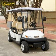 4 Seat chinois golf chariots mini-club de voiture électrique de golf chariot électrique buggy voiture avec Cargo