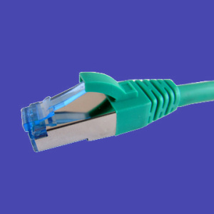 Cat6 Patch blindado duplo de chumbo