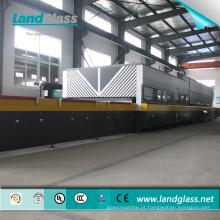 Landglass Jet Convection Certificado CE / ISO Linha Elétrica de Temperamento de Vidro / Forno de Temperamento de Vidro