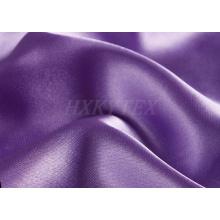 150d satinado spandex poli satinado de tela para el vestido