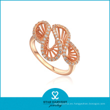 Piercing oro rosa joyería plateada (SH-R0003)
