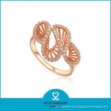 AAA CZ jóias de ouro anel de chapeamento (SH-R0003)