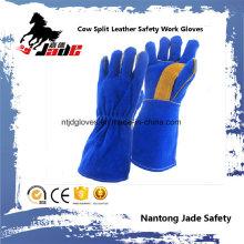 Gant de travail en soudure de securite à main en cuir corsé en peau de vachette