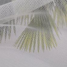 Lässiger 50D Polyester Knit Mesh Net Dress Stoff