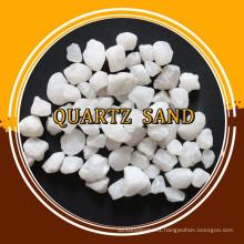 white hard quartz sand for sale