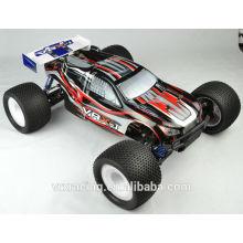 1/8 escala 4WD Nitro gás Powered RC carro em brinquedos de controle de rádio