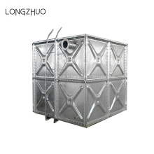 Réservoir d'eau en acier galvanisé à chaud