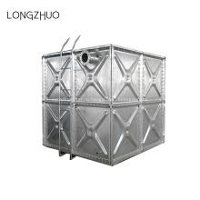 Горячий оцинкованный стальной резервуар для воды