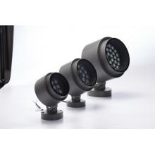 Holofote de cabeça ajustável comercial de projeto 108W