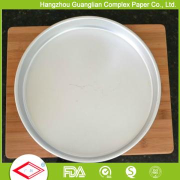 12 дюймов бумаги для выпечки круги антипригарным выпечки лист Подкладка