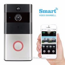 Wifi Anti-vol Audio Vidéo Porte Téléphone Smartphone APP Vidéo Porte Téléphone Interphone Système Avec Intérieur Dingdong