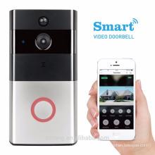 Wifi Anti-theft Audio Video Door Phone Smartphone APP Video Door Phone Intercom System With Indoor Dingdong