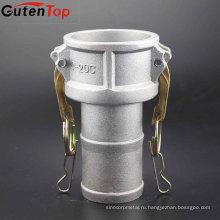 GutenTop низкой цене 304/316 SS/алюминий быстроразъемное соединение камлок Тип C